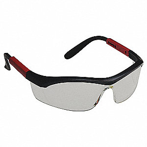 Tornado F5 Anti-Fog, Anti-Static, Scratch-Resistant Safety Glasses, Clear Lens Color