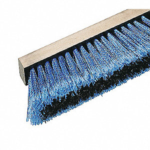 BROOM 24IN HEAVY SWEEP SYNTHETIC BL