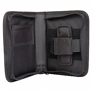 Notebook Holster, Nylon, Black