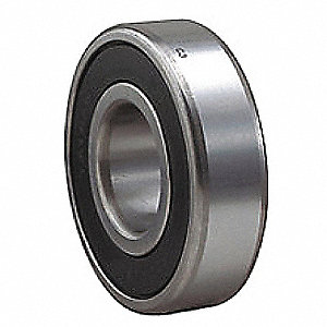 Radial Ball Bearing, Double Sealed, 75mm Bore Dia., 160mm Outside Dia.