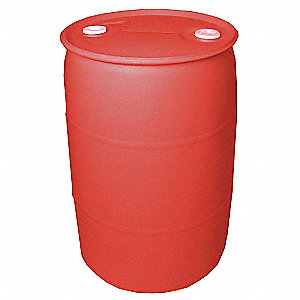 Transport Drum,Closed Head,55 gal.,Red