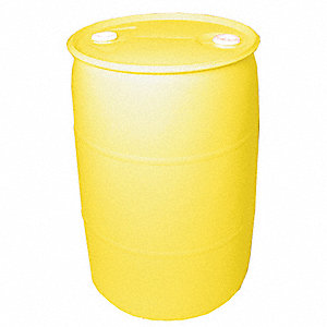 55 gal. Yellow Polyethylene Closed Head Transport Drum