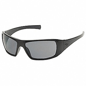 Goliath Scratch-Resistant Safety Glasses, Gray Lens Color