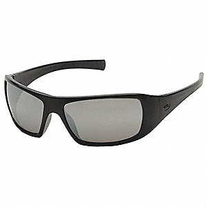 Goliath Scratch-Resistant Safety Glasses, Silver Mirror Lens Color