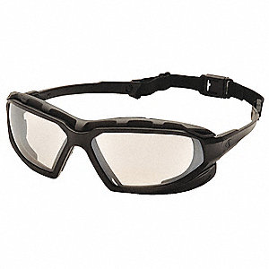 Highlander Plus Anti-Fog, Scratch-Resistant Safety Glasses, Indoor/Outdoor Lens Color