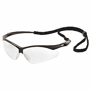 Agitator Anti-Fog, Anti-Static, Scratch-Resistant Safety Glasses, Clear Lens Color