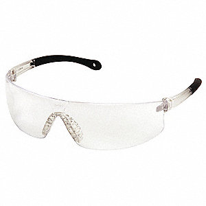 Provoq Anti-Fog, Anti-Static, Scratch-Resistant Safety Glasses, Clear Lens Color