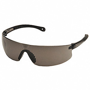 Safety Glasses,Gray,Uncoated