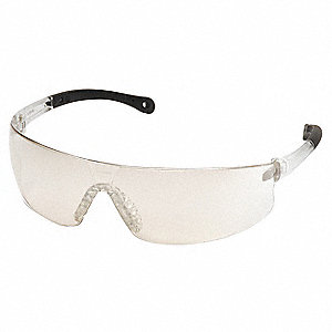 Provoq Scratch-Resistant Safety Glasses, Indoor/Outdoor Lens Color