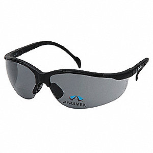 Safety Reader Glasses,3.0 Diopter,Gray