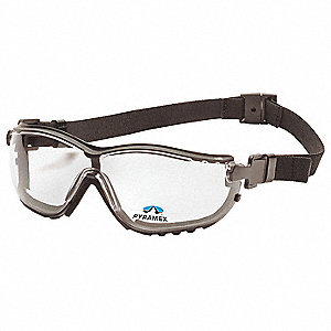 Safety Reader Goggles,2.5 Diopter,Clr,AF