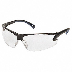 Venture 3 Anti-Fog, Anti-Static, Scratch-Resistant Safety Glasses, Clear Lens Color