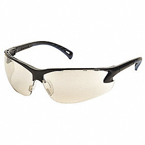 Venture 3 Scratch-Resistant Safety Glasses, Indoor/Outdoor Lens Color