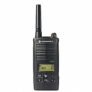 UHF LCD Portable Two Way Radio, Number of Channels 8