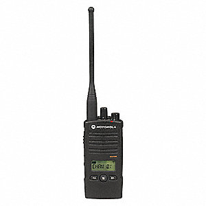UHF LCD Portable Two Way Radio, Number of Channels 16