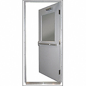 Steel DoorPush BarLHR36 x 80 In.