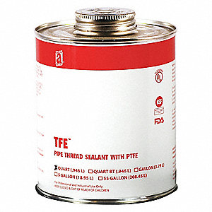 32 oz. Can Pipe Thread Sealant with 2000 psi, White