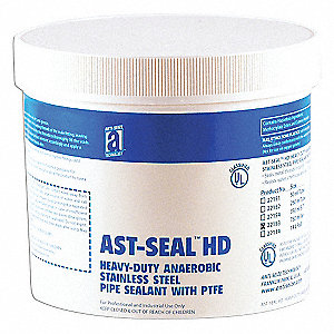 Paste White Pipe Thread Sealant, 750mL