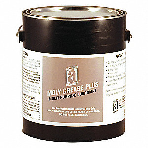 MOLY-GREASE PLUS  Black Lithium Multipurpose Grease, 5 lb., NLGI Grade: 2