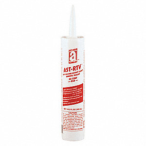 Waterproof Red RTV Silicone Sealant, 10.3 oz.