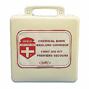 CHEMICAL BURN KIT, 24U, PLASTIC