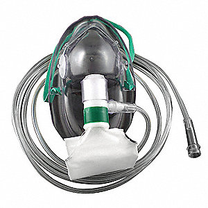 PVC Pediatric High Concentration Oxygen Mask