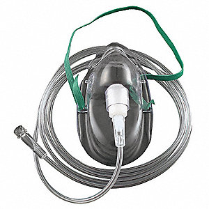 PVC Pediatric Medium Concentration Oxygen Mask
