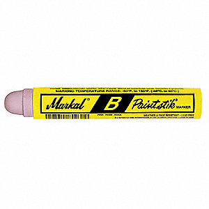 Paint Marker,11/16 In.,Pink,PK12