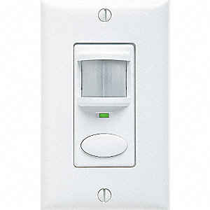WALL OCCUPANCY SENSOR WHITE DUAL