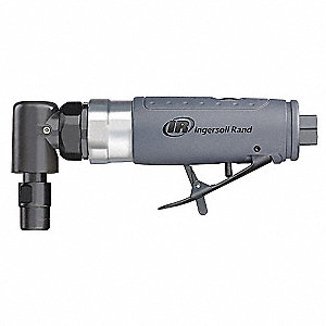 "7"" Standard Duty Right Angle Air Die Grinder, 0.33 HP"
