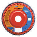 "4-1/2"" Flap Disc, Type 27, 7/8"" Mounting Hole, Medium, 80 Grit Ceramic, 1 EA"