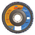 "4-1/2"" Flap Disc, Type 29, 7/8"" Mounting Hole, Coarse, 40 Grit Ceramic, 1 EA"