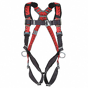Universal General Industry Full Body Harness, 4000 lb. Tensile Strength, 400 lb. Weight Capacity, Re