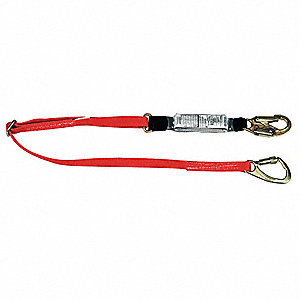 Lanyard,1 Leg,Nylon,Red