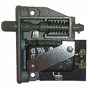 SPDT Polyester Door Switch with Screw Terminals, 15A @ 125/250VAC