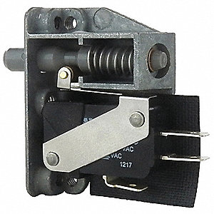 SPDT Polyester Door Switch with Quick Connect Terminals, 5A @ 125/250/277VAC