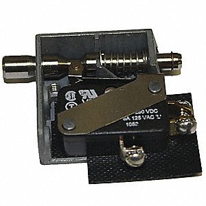 SPDT Stainless Steel Door Switch with Screw Terminals, 15A @ 125/250VAC
