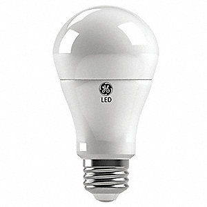6.0 Watts LED Replacement Lamp, A19, Medium Screw (E26), 450 Lumens, 2700K Bulb Color Temp.