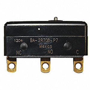 LG BASIC SNAP SWCH,20A,SPDT,PIN PLU