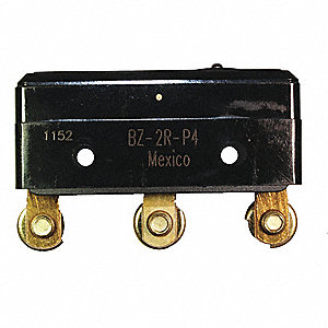 LG BASIC SNAP SWCH,15A,SPDT,PIN PLU