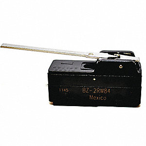 15A @ 240V Hinge, Lever Industrial Snap Action Switch; Series BZ