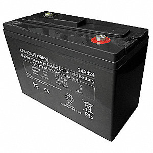 ABS Battery, Voltage 6, Battery Capacity 120Ah, Threaded Insert Terminal Type