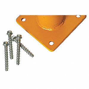 ANCHOR,CONCRET,5/8X4-1/2IN,4/PK