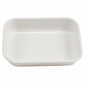 Tray,  HIPS,  4/5 in Height,  5 9/10 in Width,  7 9/10 in Length