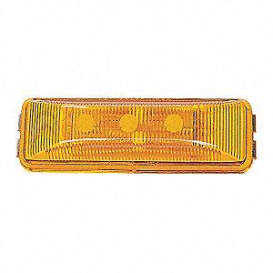 LAMP 4 LED CLEARANCE MKR AMB