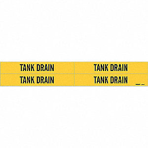 PMRKR TANK DRAIN Y 3/4 TO2-3/8IN