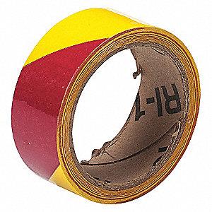 WARNING TAPE ROLL 1-1/2IN W 54 FT.L