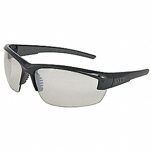 Mercury™ Scratch-Resistant Safety Glasses , SCT-Reflect 50 Lens Color