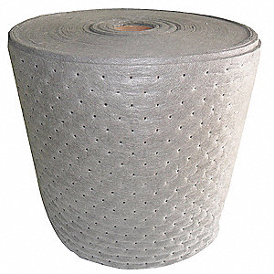 150 ft. Absorbent Roll, Fluids Absorbed: Universal, Heavy, 50 gal., 2 PK