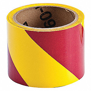 WARNING TAPE ROLL 3IN W 54 FT. L